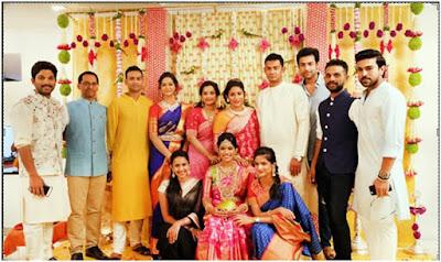 Srija and family