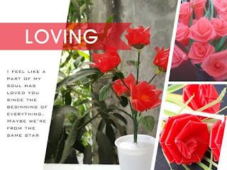 cara membuat bunga dari sedotanyang mudah dan sederhana