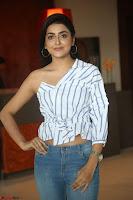 Avantika Mishra in One Shoulder Crop Top and Denim Jeggings ~  Exclusive 012.JPG