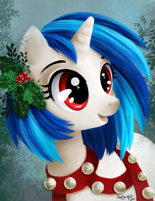 Merry Christmas from Vinyl Scratch