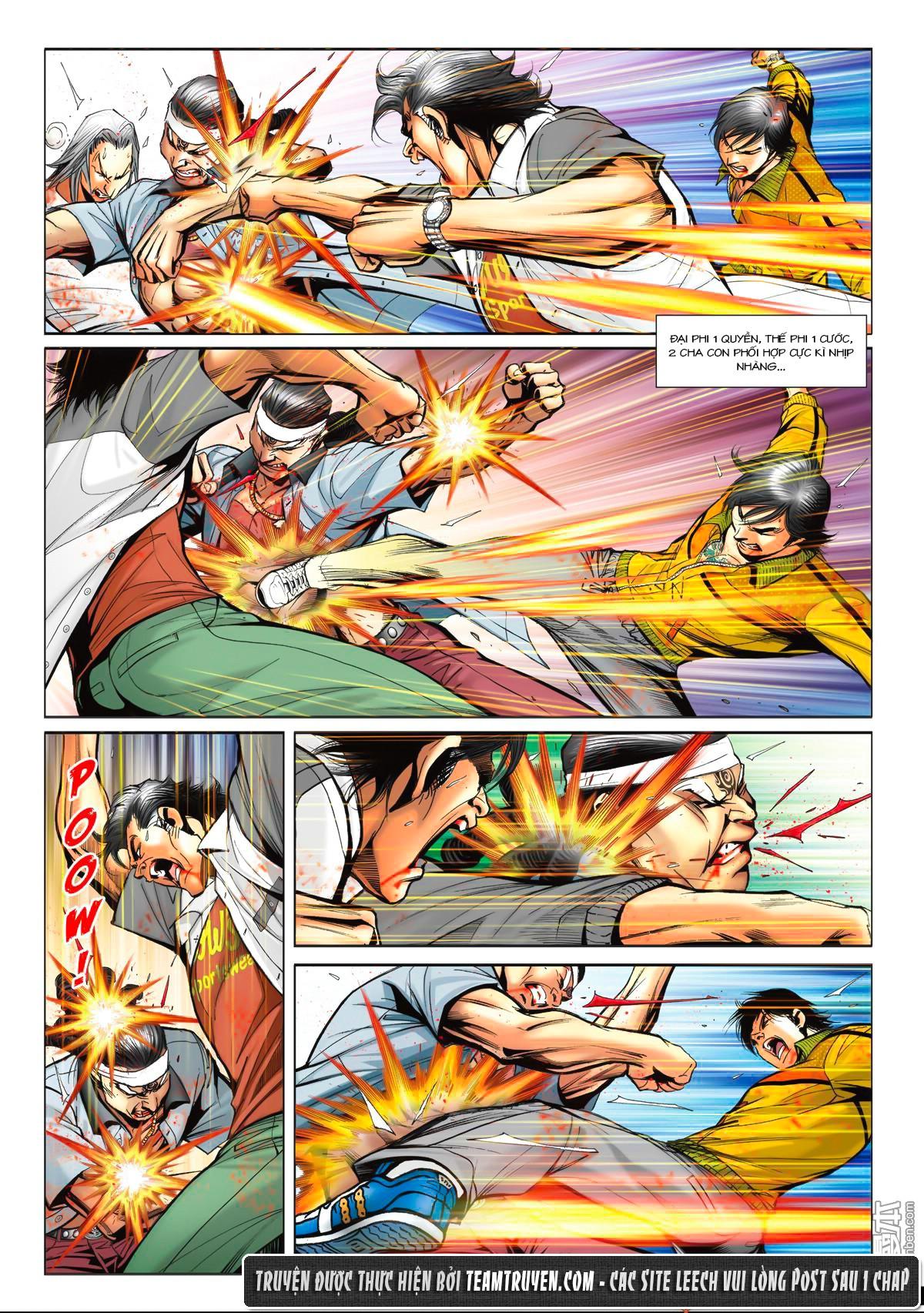 Người Trong Giang Hồ NetTruyen chap 1553 - Trang 13