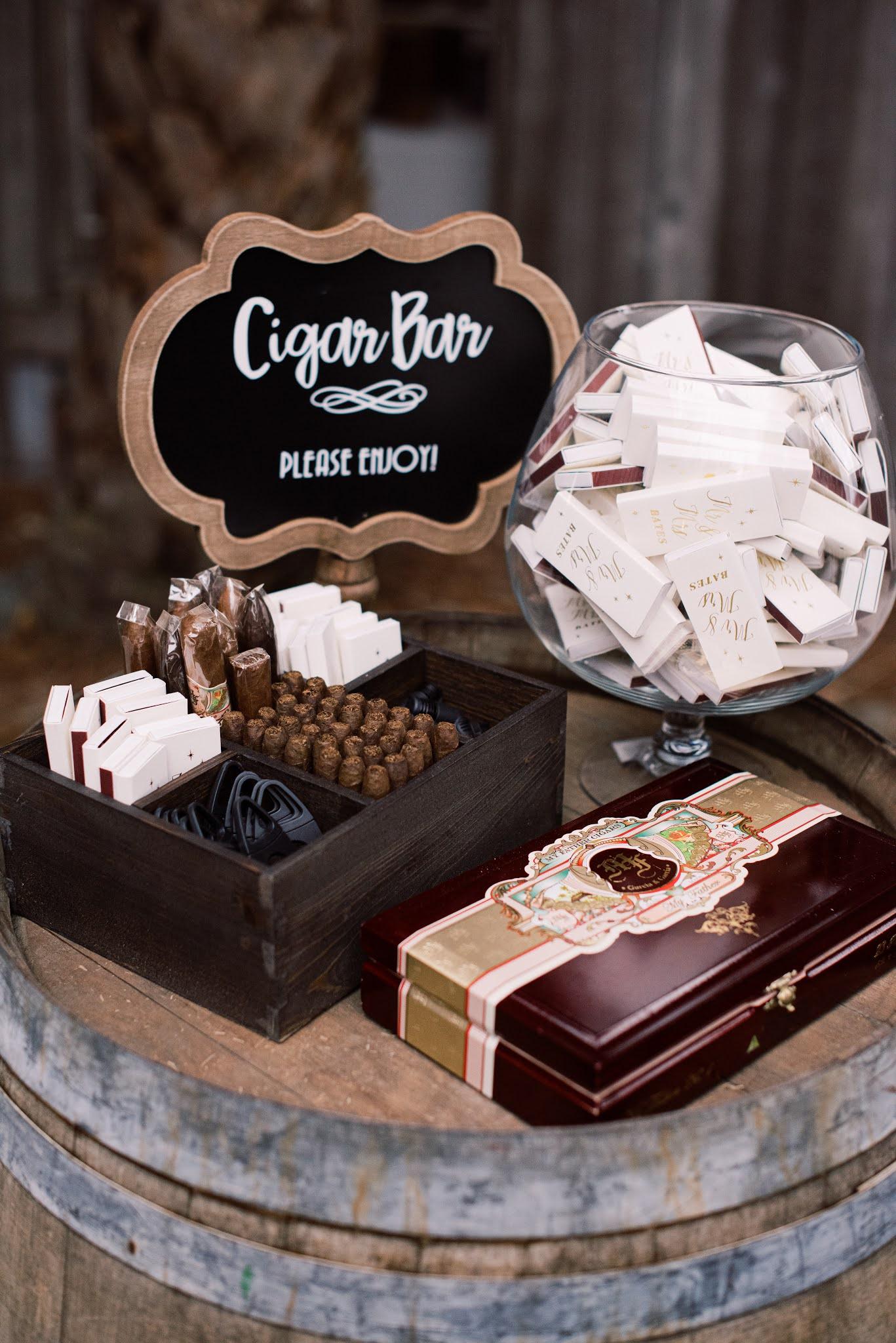 Cigar Bar Charleston Wedding - Chasing Cinderella