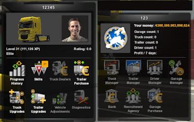 Infinity Money XP ETS2 v1.41
