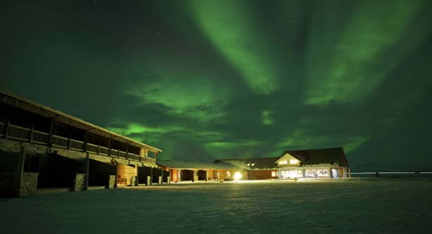 Avail the golden opportunity to watch the stunning Aurora Borealis with elegance! The exceptional Borealis Hotel is situated nearby Thingvellir National Park. Real pleasing chic has been used in the construction of this exclusive hotel.