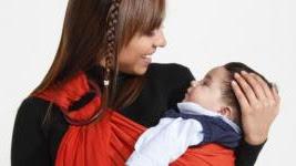Portabebés, permiten llevar al bebé en brazos y fortalecen el vínculo