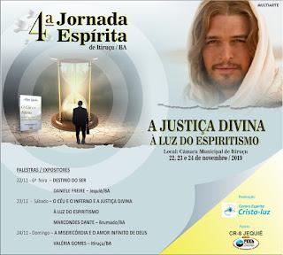 Centro Espirita Cristo-Luz realiza a 4ª Jornada Espírita