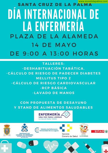 El Ayuntamiento de Santa Cruz de La Palma colabora con el Día Internacional de la Enfermería