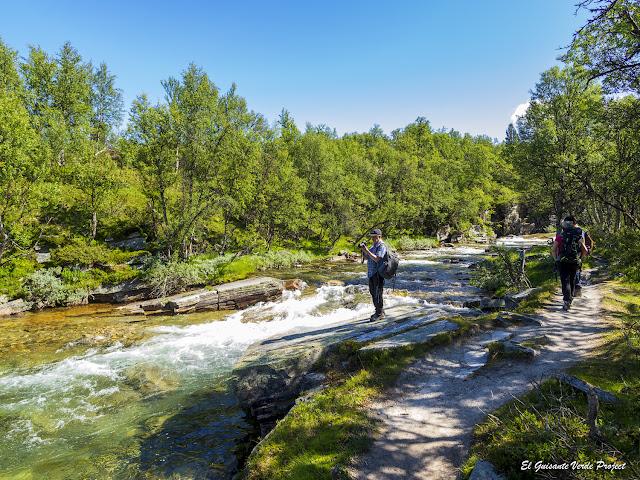 Rápidos del Ula, Rondane - Noruega, por El Guisante Verde Project