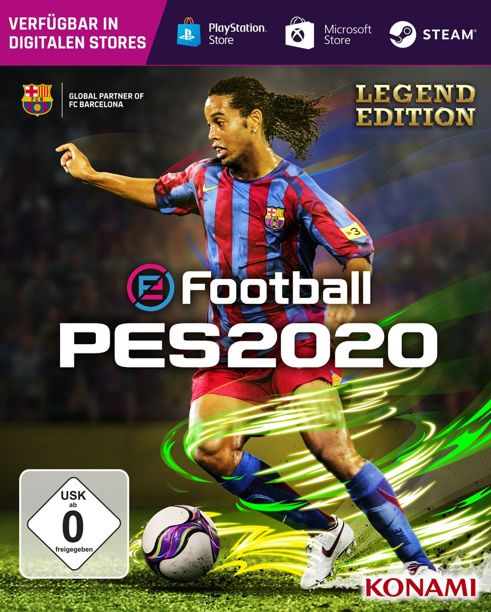 PES 2020 Announced - Messi & Ronaldinho Cover Stars, Trailer