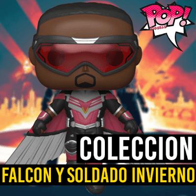 Lista de figuras Funko POP Falcon y el Soldado de Invierno