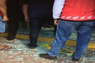 Bandidos disparam arma de fogo e destroem vidraças após tentativa de assalto na PB