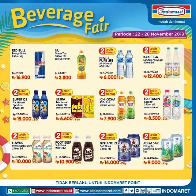 #Indomaret - #Promo Katalog Beverage Fair Periode 22 - 28 November 2019