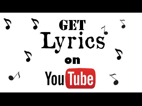 how To Get lyrics on Youtube - musixmatch ~ The Easy HACK
