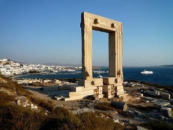 Vistas de Naxos - Islas Griegas