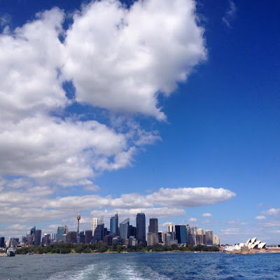 The Ferry to Taronga Zoo, Sydney