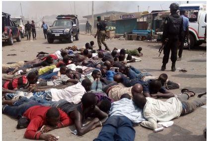 BREAKING News: Riot at Ikeja-along, Lagos State
