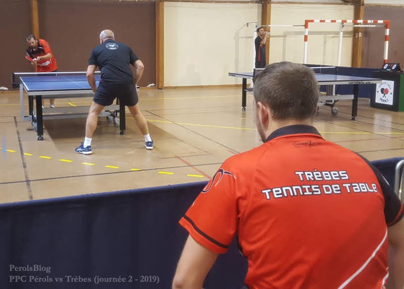 Pérols Ping-Pong vs Trèbes
