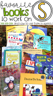 favorite books for working on articulation for S and Z