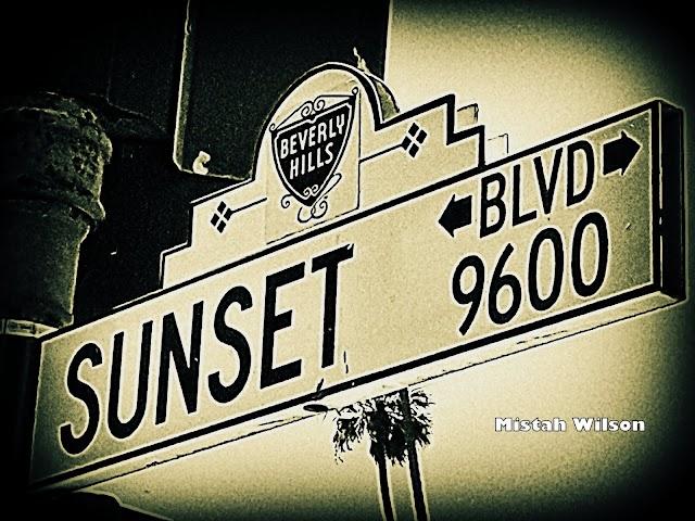 Sunset Boulevard, Beverly Hills, California by Mistah Wilson