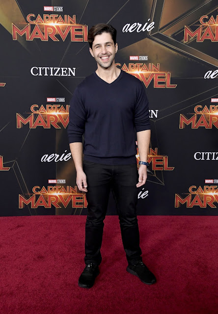 Citizen Marvel Ambassador Josh Peck at Captain Marvel Premiere