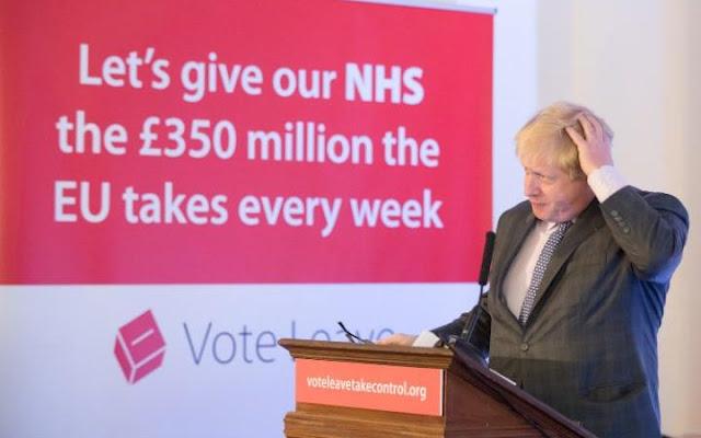 Boris Johnson & Brexit NHS £350m Court Case