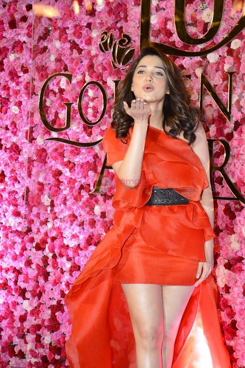 Tamanna at Lux Golden Rose Awards 2016