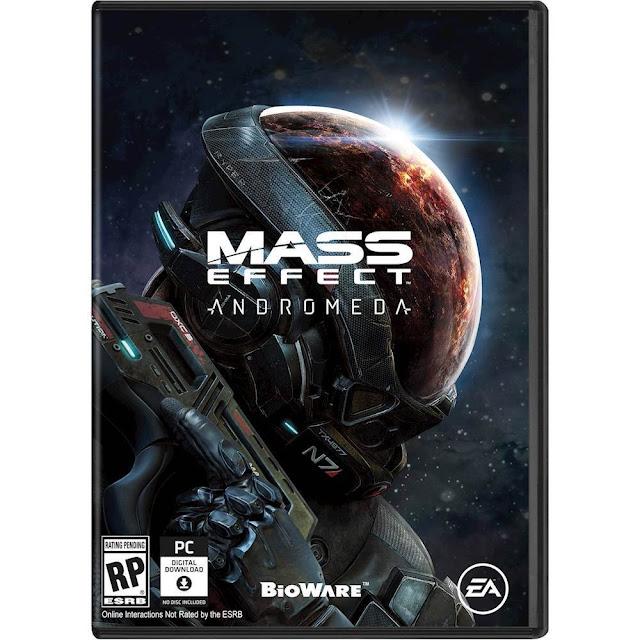 Desvelado el boxart de Mass Effect Andromeda 1