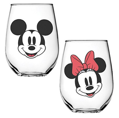 Mickey Mouse & Minnie Mouse Tumbler - Set of Two