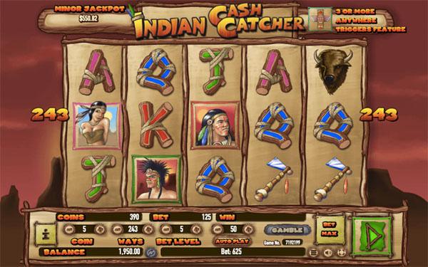 Main Gratis Slot Indonesia - Indian Cash Catcher Habanero