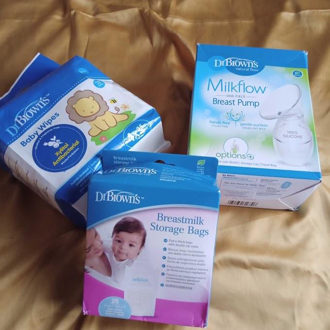 Perlengkapan Bayi Dari Dr. Brown's Untuk Para Working Mom