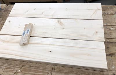 DOD テキーラレッグの天板を簡単DIY:木材カット