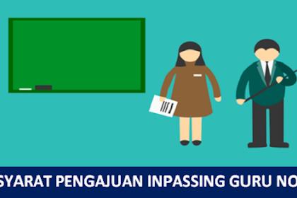 Syarat Pengajuan Inpassing Terbaru 2019 Bagi Guru Non PNS