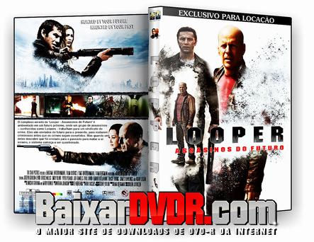 Looper – Assassinos do Futuro (2012) DVD-R Oficial