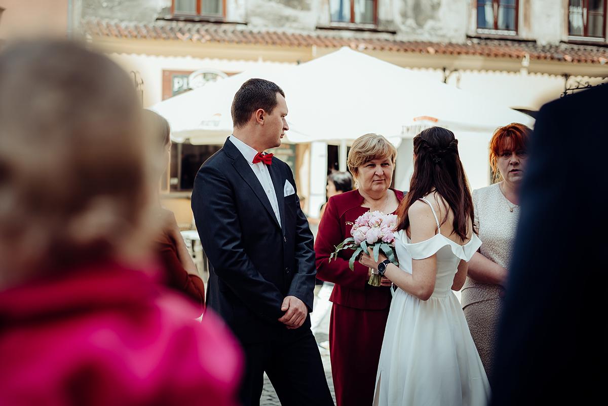 ślub cywilny w Lublinie, fotografia ślubna Lublin