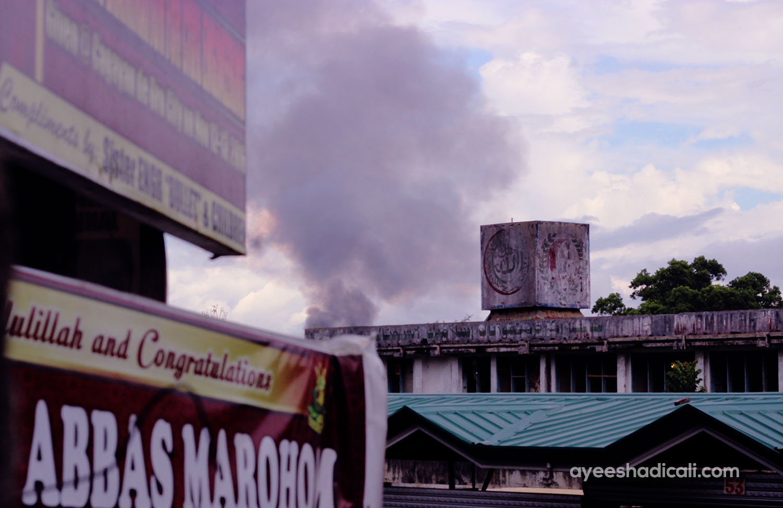 Marawi airstrikes