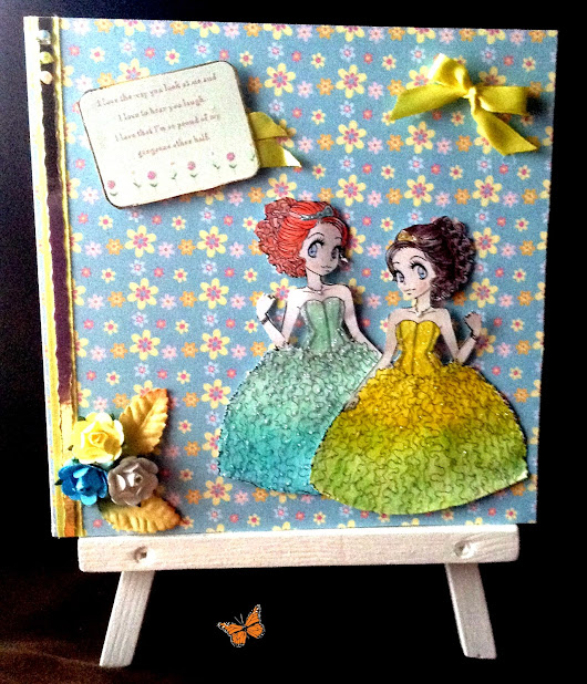 #79 its an Anything Goes with the lovely Zuri Artsy Craftsy