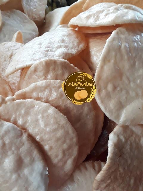 Bánh phồng Sơn Đốc - Bến Tre