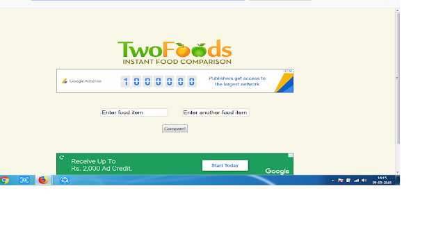 One of the best website for food comparision-read the full article