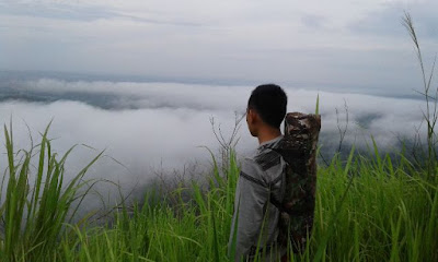 Bukit Jambu, Tagor Menanti, Gunung Jambu Haruyan