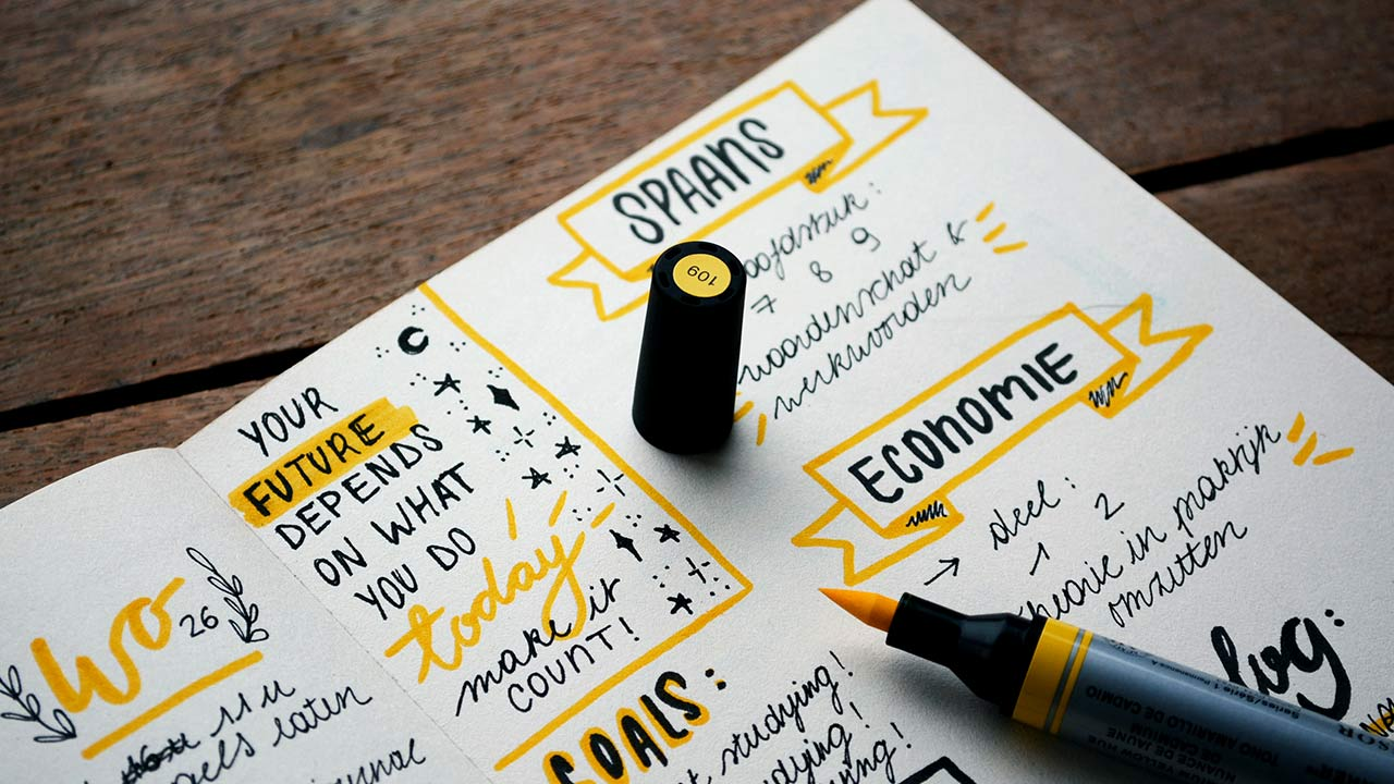 Bullet Journal 3 tips to get started