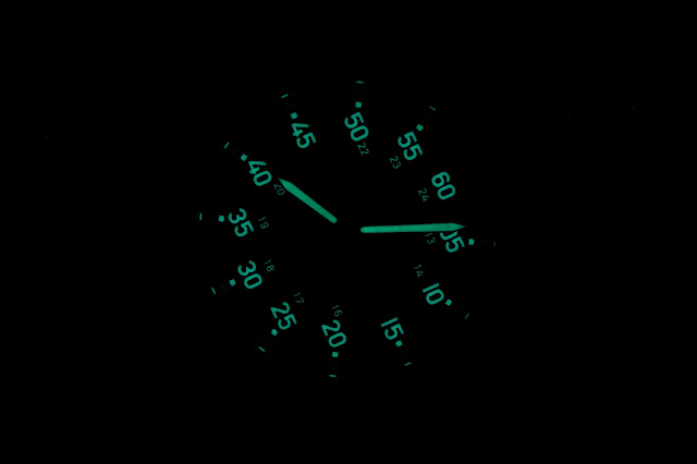 Bangalore Watch Company Mach 1A lume