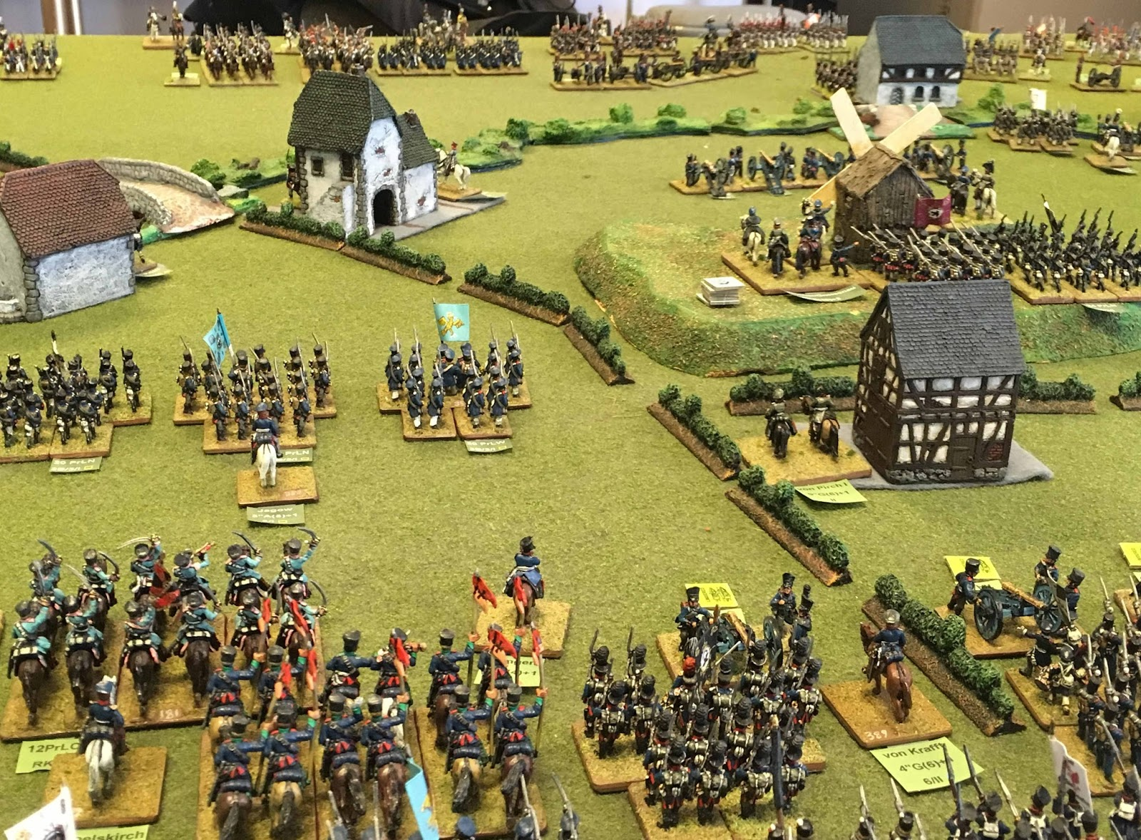 Avon napoleonic fellowship ligny 202 plus 1 day at the nws for Domon waterloo
