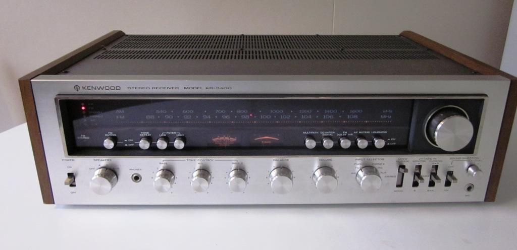 speakerholic kenwood kr 9400 receiver. Black Bedroom Furniture Sets. Home Design Ideas