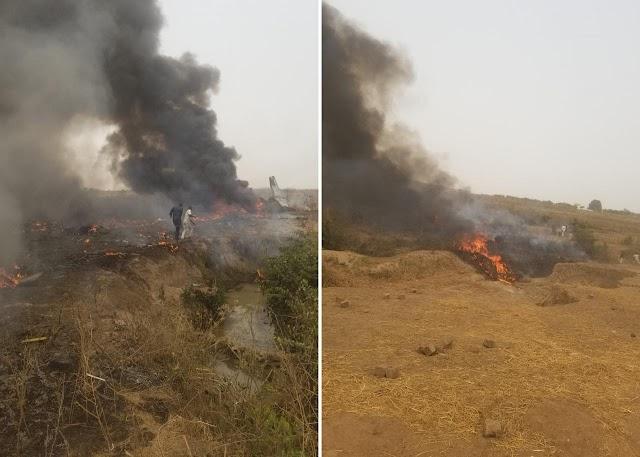 Breaking News: Military Aircraft Crashes Near Abuja Airport