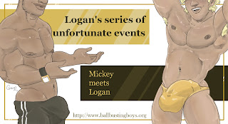 https://ballbustingboys.blogspot.com/2019/08/logans-series-of-unfortunate-events.html