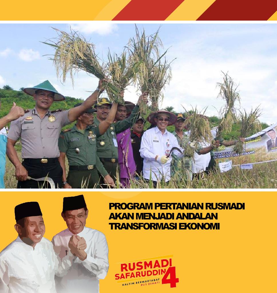 program-pertanian-rusmadi-akan-menjadi-andalan-transformasi-ekonomi
