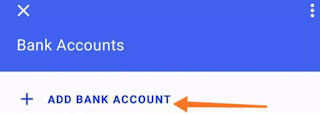 Bank account add