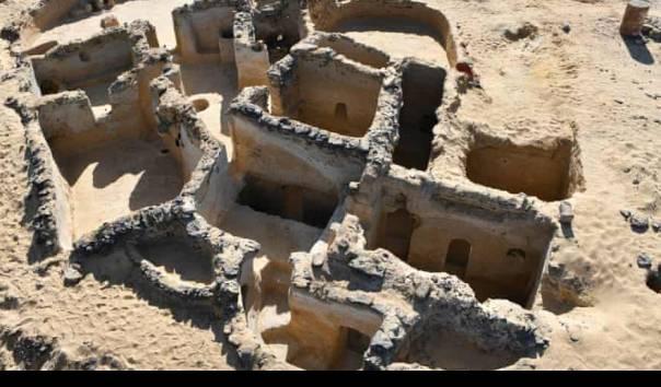 Menakjubkan, Gereja dan Pemukiman Kristen Kuno Ditemukan di Mesir