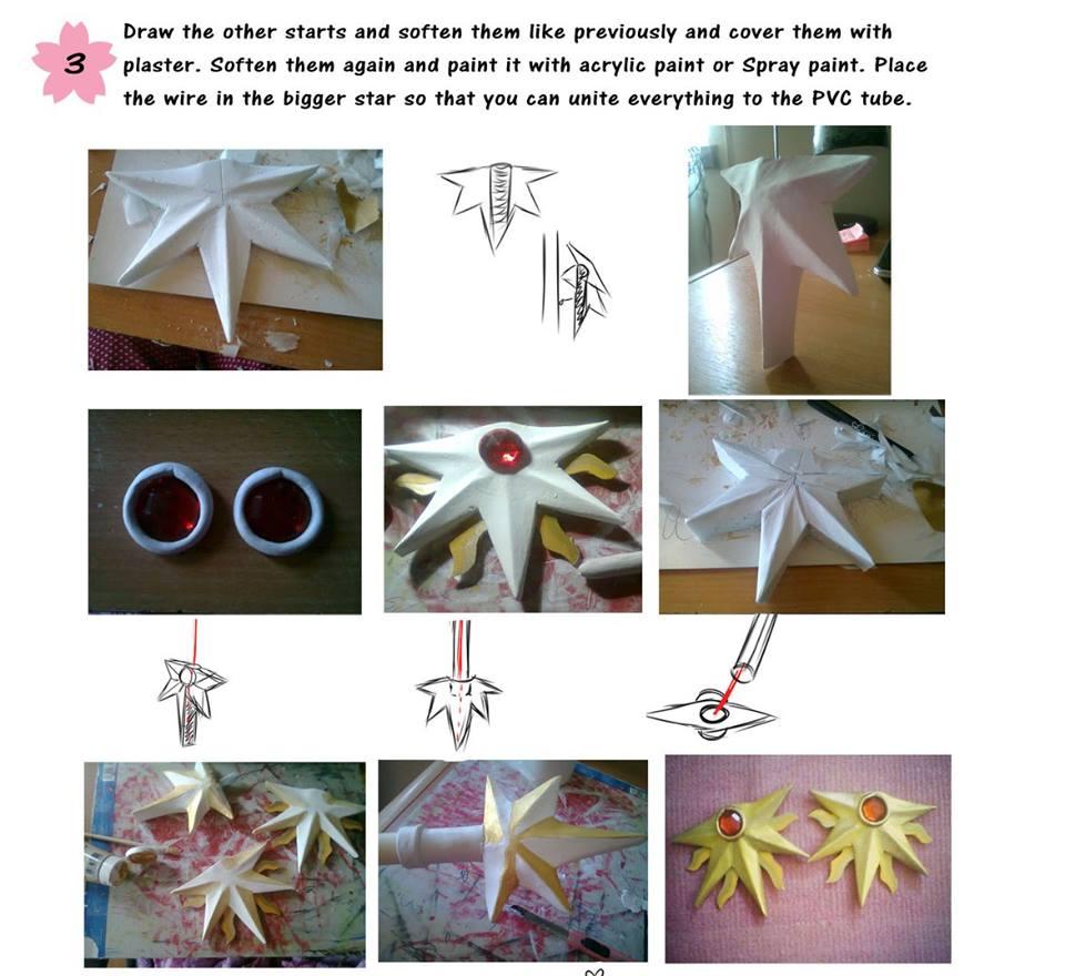Tutorial: báculo de Sakura Cardcaptor