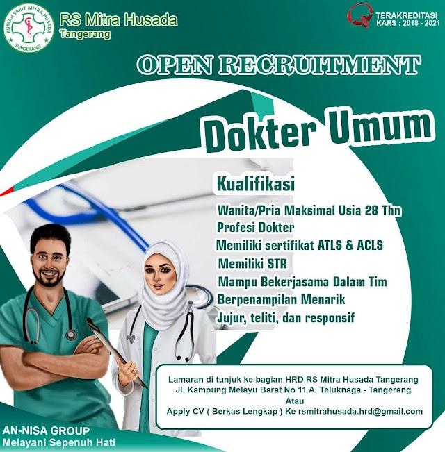 Loker Dokter Mitra Husada Tangerang